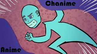 e se Chanime fosse um ANIME? VEJA!