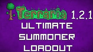 Ultimate Summoner Loadout - Terraria 1.2.1 Guide