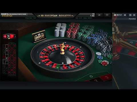 3d European Roulette - Casino Kings