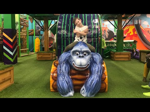 Влог Джунгли парк/Парк развлечений/VLOG Jungle park