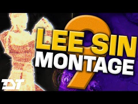 TheDarkTongo High Elo Lee Sin Montage 9 - Best LoL Plays 2016