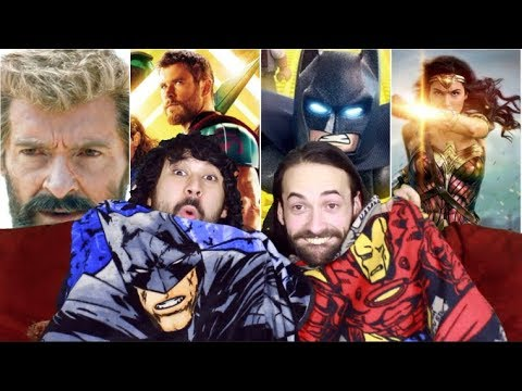 RANKING The COMIC BOOK MOVIES of 2017!!!