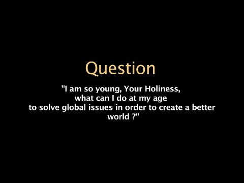 How can we solve global issues to create better world