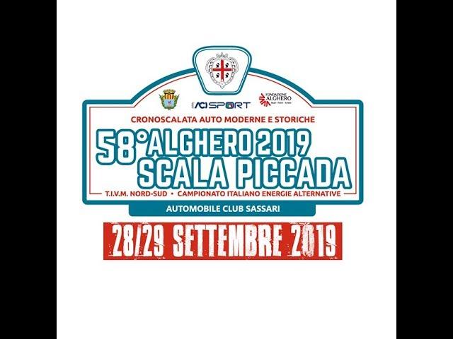Cronoscalata Alghero-Scala Piccada 2019, conferenza stampa di presentazione