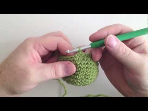 Invisible Single Crochet Decrease Tutorial - The Shy Lion