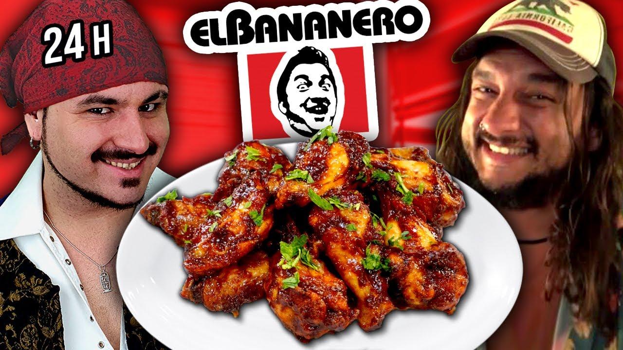 24 HORAS cocinando RECETAS de EL BANANERO 🔥SAPEEE
