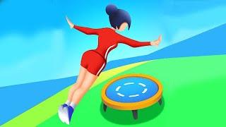 Flip Jump Stack! Full GamePlay Walkthrough (100 Levels)