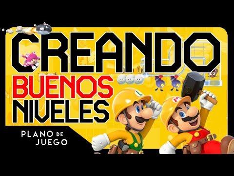 Cómo Crear Niveles como Nintendo - Super Mario Maker 2 | PLANO DE JUEGO