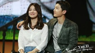[Full]160617 송중기 송혜교 청두팬미팅 Song Hye Kyo Song Joong Ki Chengdu Fan Meeting Song Song Couple 宋仲基宋慧乔