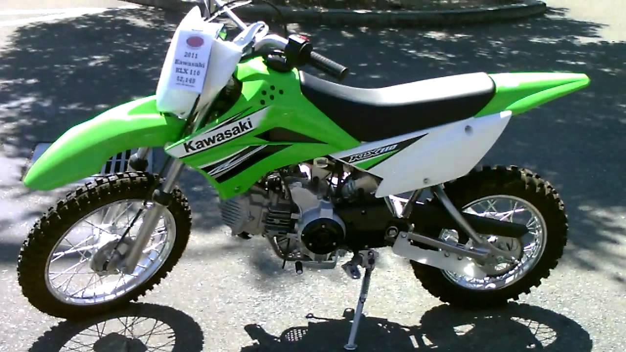 contra costa powersports-new 2011 kawasaki klx110 electric start