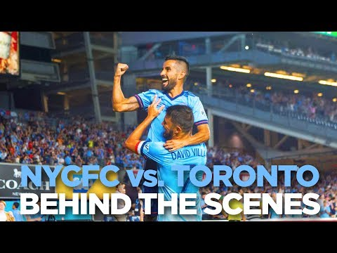 BEHIND THE SCENES | NYCFC vs. Toronto | 07.19.17