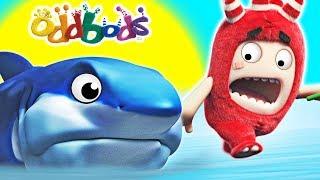 ODDBODS - BABY SHARK   Funny Cartoons For Children   Oddbods Show Full Episodes