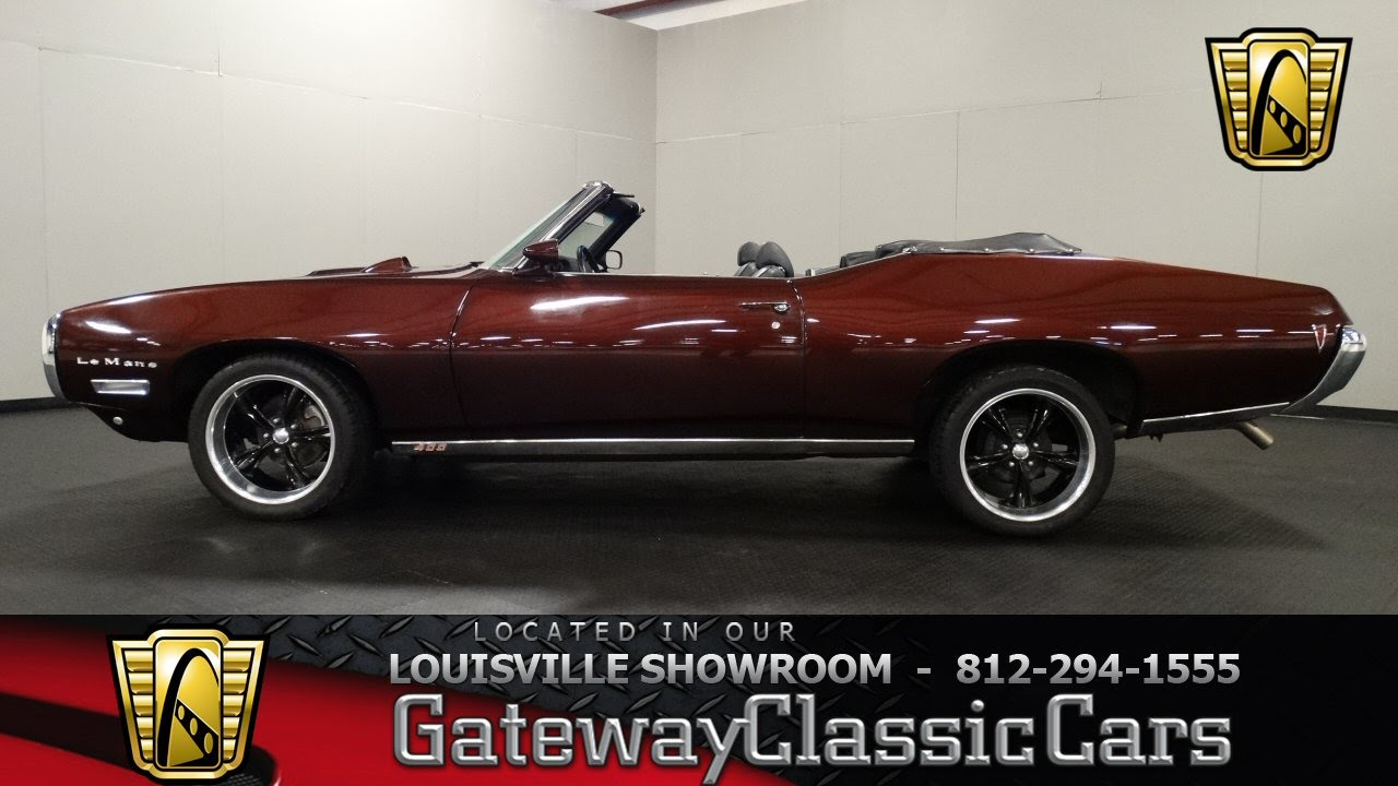 1969 Pontiac Lemans Convertible - Louisville Showroom - Stock # 1121 ...