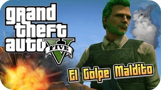 ATRACO EN DIFÍCIL GTA V ONLINE GAMEPLAY PS4