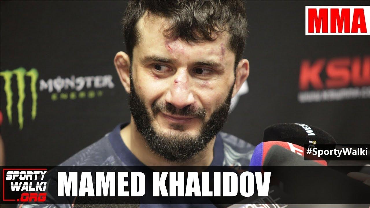 Mamed Khalidov: Jak się walka podobała, to chcę rewanż z Narkunem
