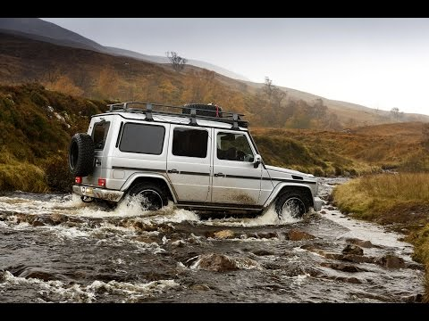 Mercedes-Benz 4WD vehicles travel the UK coast to coast without roads