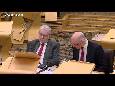 European Union Legal Continuity Scotland Bill