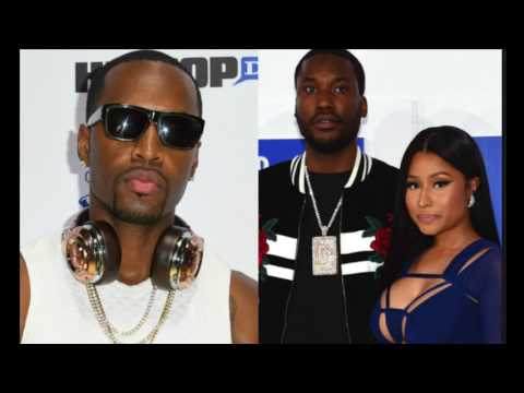"""Nicki Minaj Disses Safaree For Not Fighting Meek Mill, Dreamchasers In Los Angeles, """"Be A Grown Man"""""""