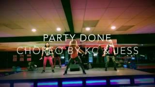 PARTY DONE by Machel Montano & Angela Hunte Zumba Dance Fitness CHoreo