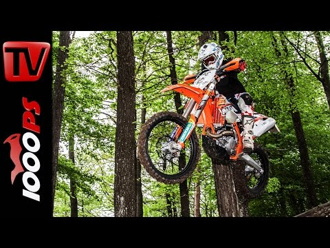 KTM 450 EXC Test 2015 | Crash Action, Fazit