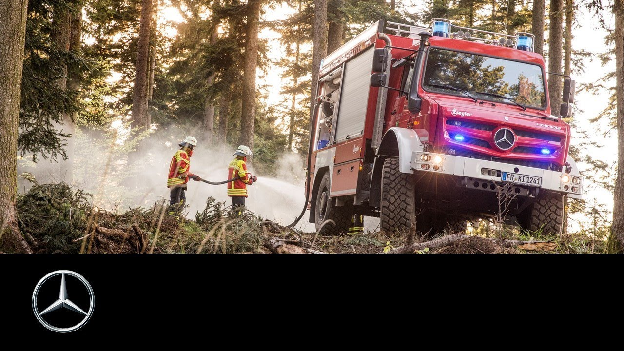 Off Road Fire Truck >> Mercedes Benz Unimog Extreme Off Road Fire Truck