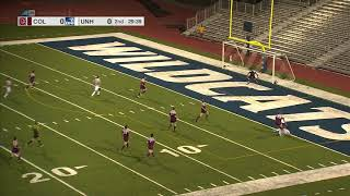 UNH Men's Soccer vs Colgate Highlights 8-25-17