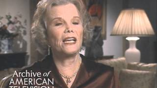Nanette Fabray discusses doing sign language on