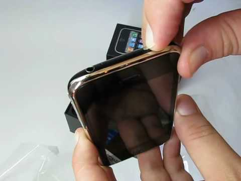 Tirando da caixa: Apple iPhone 3GS