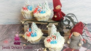 Weihnachts-Cupcakes I Christmas-Cupcakes