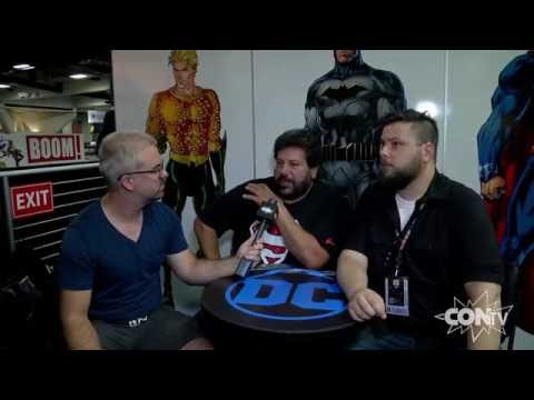 CONtv Insider: San Diego Comic-Con - Peter Tomasi and Pat Gleason Interview