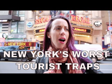 New York's Worst Tourist Traps: Times Square, Scams, Frauds,