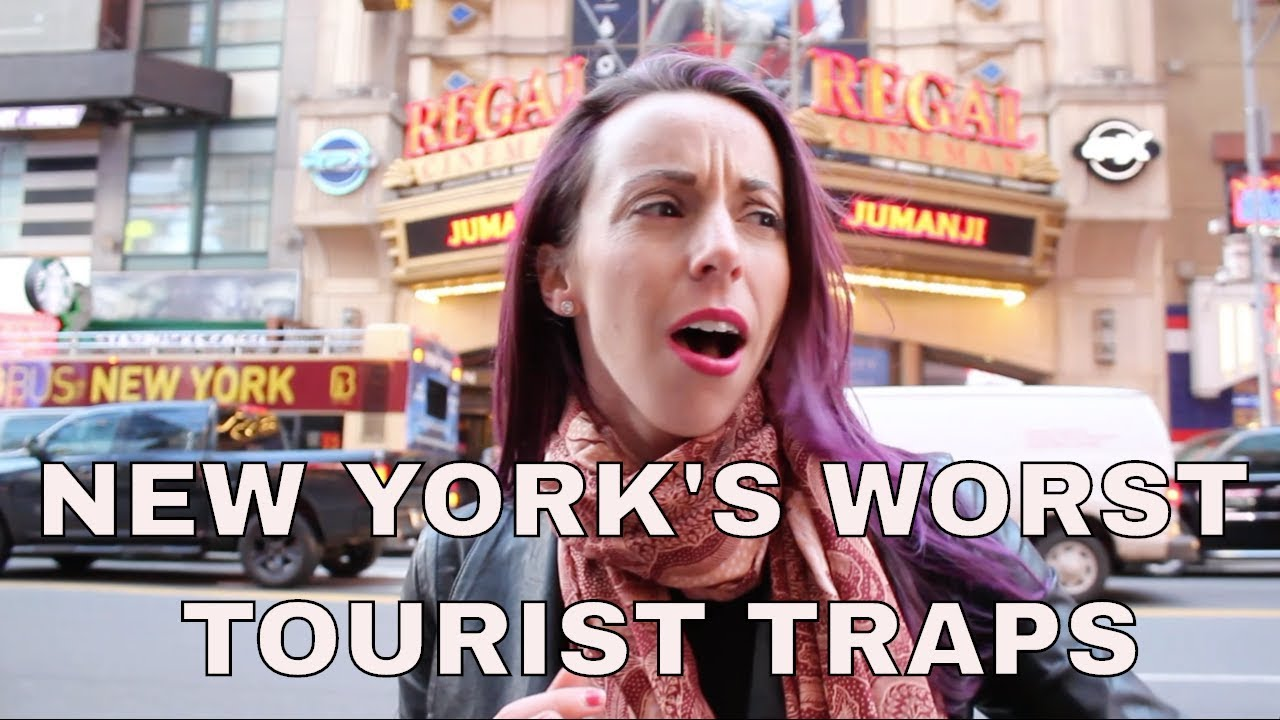 New York's Worst Tourist Traps: Times Square, Scams, Frauds, and More