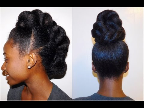 Natural Hairstyles for Formal Events!!