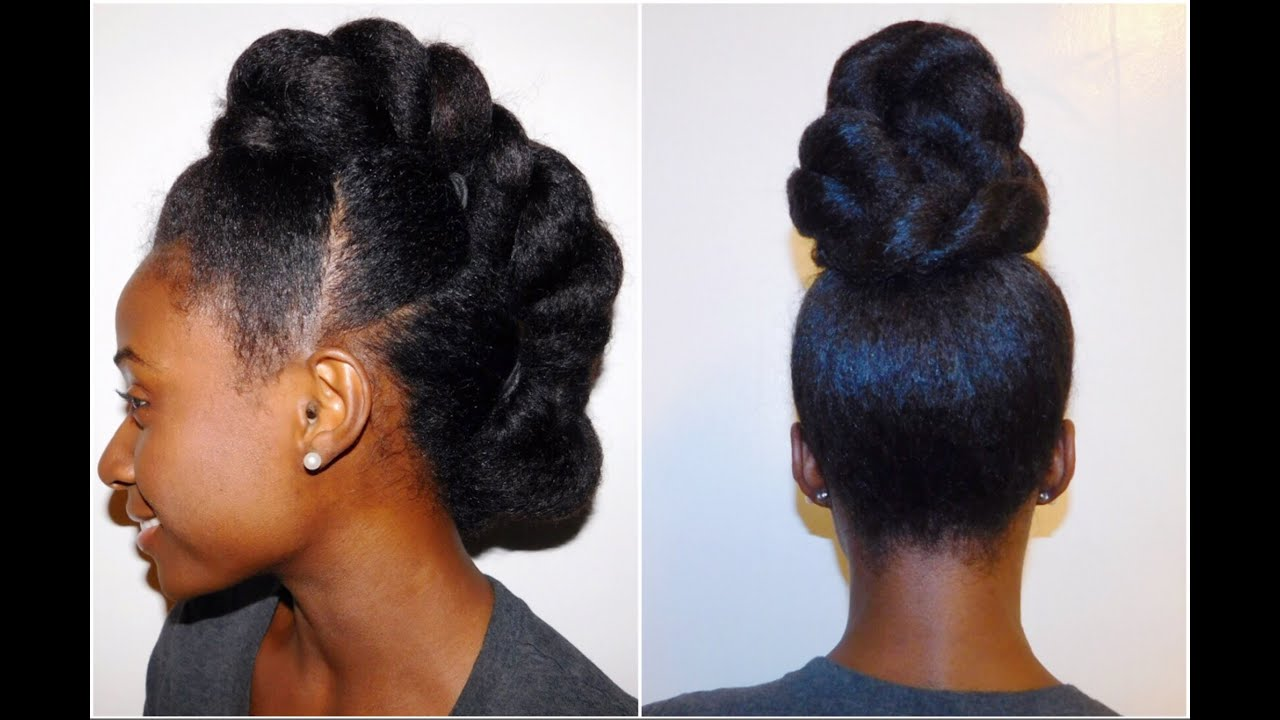 Natural Hairstyles For Formal Events!!   YouTube