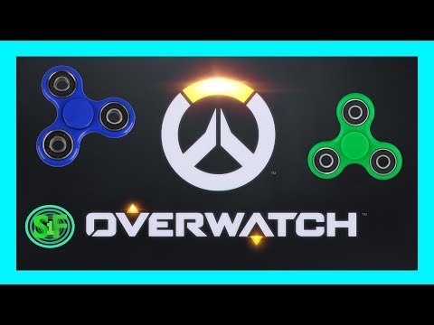 OVERWATCH: GREEN SCREEN and a FIDGET SPINNER