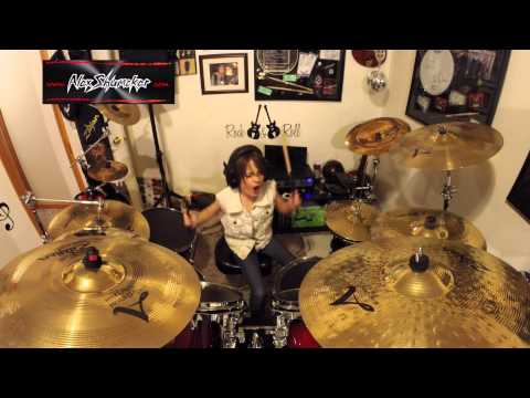 Alex Shumaker Drum Cover Tango Down -