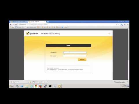 Symantec Validation & ID Protection (VIP): Identity Certificate Installation
