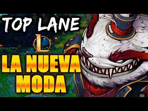 LA NUEVA MODA EN TOP LANE! Y LO INVENTE YO! runas - tahm kench - lol - gameplay