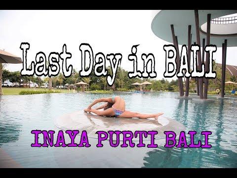 BALI VLOG - Day 8 - This Resort is INSANE - hotel tour Inaya Purti Bali