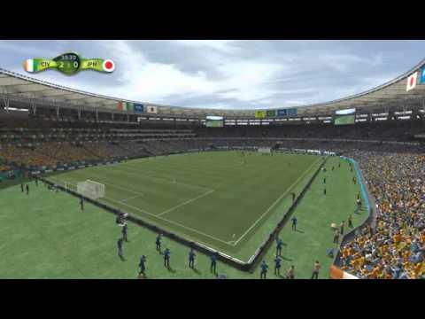World Cup 2014 IVORY COAST vs JAPAN 2 1 15th June 2014 WM Elfenbeinküste Japan Côte d'Ivoire Japon