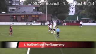 Kreispokal Viertelfinale: SC 26 Bocholt - 1. FC Bocholt