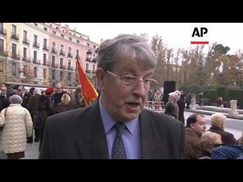 Far right event to commemorate anniversary dictator Francisco Franco's death