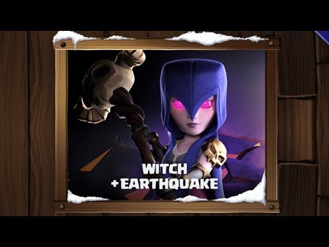 Witch Earthquake Event | Farm These Walls to MAX | Clash of Clans