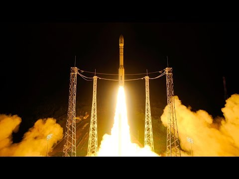 Arianespace Vega VV-10 Launching Optsat 3000 And Venus Earth
