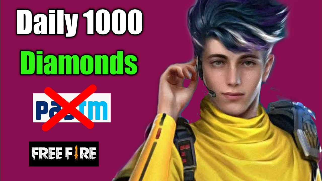 HOW TO GET 5000 DIAMONDS Daily WITHOUT PAYTM ,WITHOUT REDEEM CODE | NEW TRICK GARENA FREE FIRE