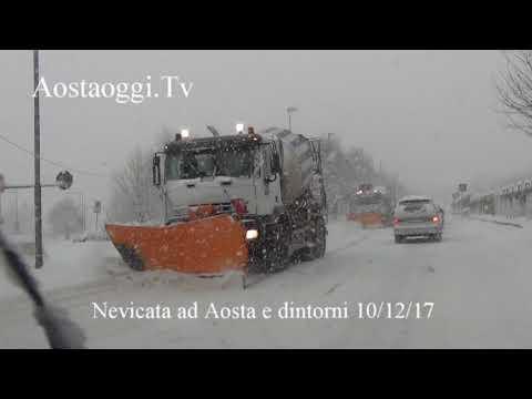 Meteo Neve ad Aosta e dintorni 10/12/17