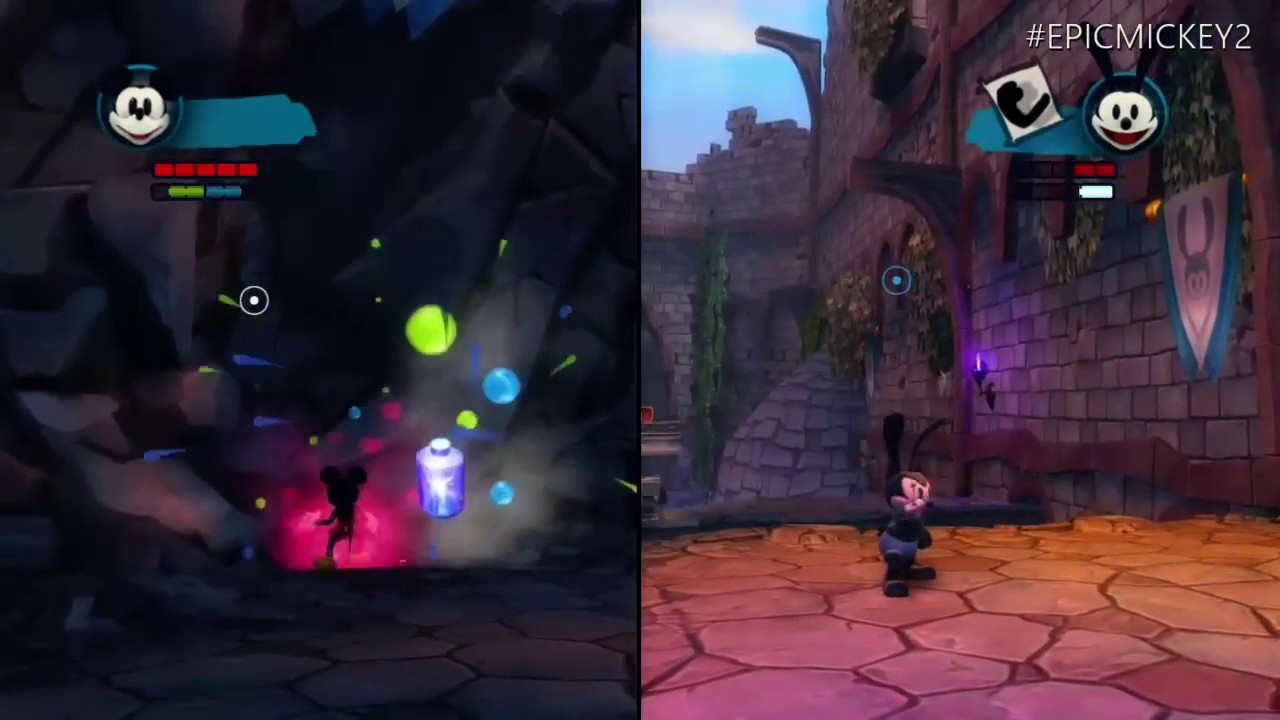 Disney Epic Mickey 2 The Power Of Two Xbox One Backwards