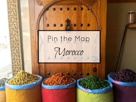 Pin the Map: Morocco