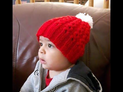 4e1d7476efc2 Gorro tejido para bebé de distintos tamaños