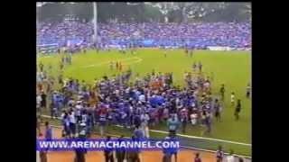 DERBY BERDARAH AREMA VS PERSEMA DI STADION GAJAYANA MALANG #9